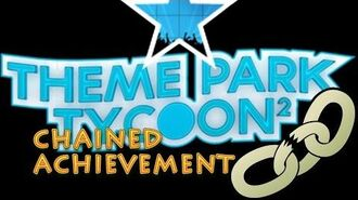 HOW TO GET CHAINED achievement IN THEME PARK TYCOON 2 ALL ACHIEVEMENTS ON KALINA YT CHANNEL