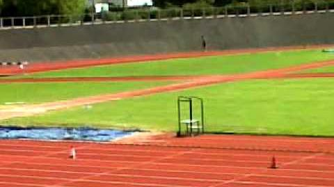 Teacher falls over on sports day at eps