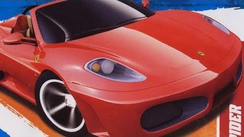 Classic Toy Room - FERRARI F430 SPIDER Hot Wheels review