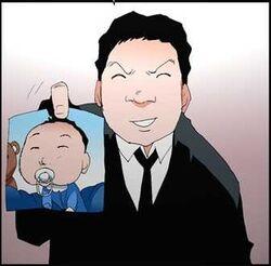 Hyun Soo and son