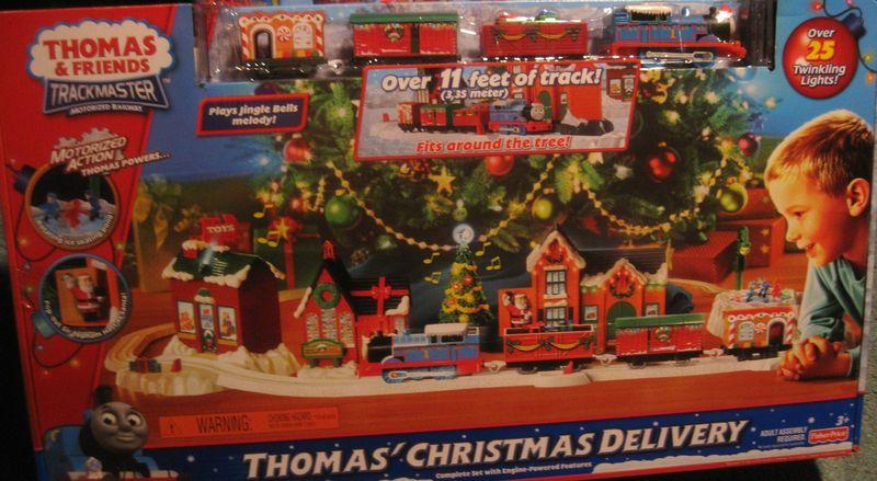 Thomas' Christmas Delivery - V7625 | TrackMaster Thomas and ...