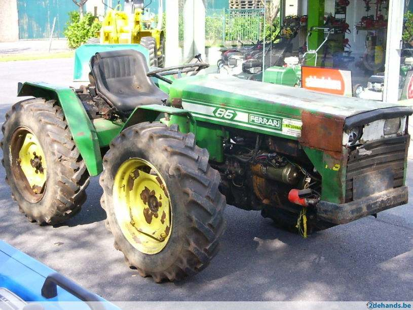 Ferrari 86 Tractor Amp Construction Plant Wiki Fandom