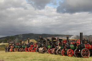 Cheltenhham Steam Fair line up 09 - IMG 4117