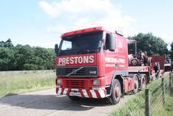 Volvo FH12 - V852 DHN of Prestons of Potto at DP 09 - IMG 8031