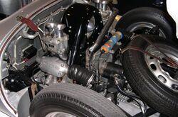 1955 Porsche 550 Spyder engine