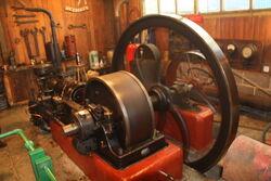Crossley engine at Klondyke mill 09 - IMG 4924