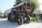 Fowler showmans sn 14948 Prince of Wales reg EB 4999 at Southport 09 -