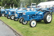 Ford 1000 series set (pre force) at FFA Newby 09 - IMG 2330