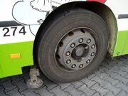 MB O 405 N MVV274 guide wheel detail