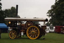 Fowler no.15657 - The Iron Maiden - (FX6661) at Old Warden 2013 - IMG 9711