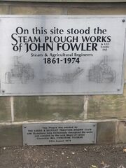 The site of Steam Plough Works - Fowler - sign - off flickr-8595