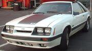 '85-'86 Ford Mustang 5.0 Liftback (Orange Julep '07)