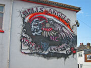 Hells Angels Mural - Southampton