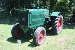 Oliver 90 sn 510825 reg FYB 752 (perkins engine) at Woolpit 09 - IMG 1264