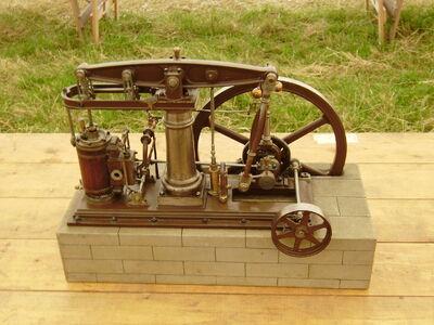 Model steam Beam engine