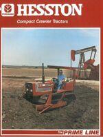 Hesston 95-55 crawler brochure