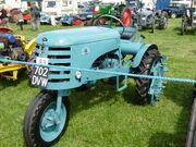 OTA tractor - reg 702 DVW at Cromford 08 - P8030365