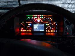 FH16 Mk2 dash display