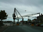 Scotch Derrick crane in Waterford