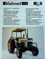Valmet 78 Viking (yellow) - 1985