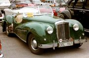 Alvis TB 21 Sports Roadster 1952