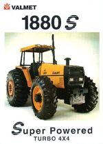 Valmet 1880S MFWD ad (orange) - 1998
