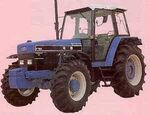 Daedong F7810 MFWD (Ford) - 1993