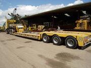 SE Davies tri-axle Nooteboom low loader - P6150196