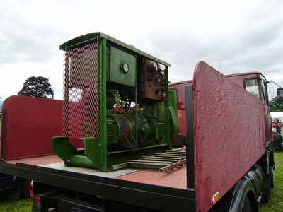 Generating set at Shugborough 08 - P6220143