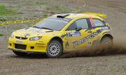 Proton Satria Neo Super 2000 Rally Car 2010
