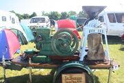 Bamford 4 hp Horizontal engine sn 2612 of 1923 at Woolpit 09 - IMG 1550