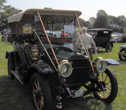 1910 White touring car