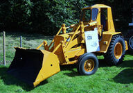 A 1960s chaseside fordson loader