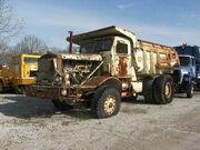 Old Euclid dump truck