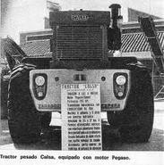 1977 CALSA TD-08 Tractor Diesel Pegaso engine