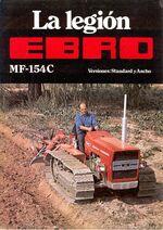 MF 154C crawler (Ebro) brochure