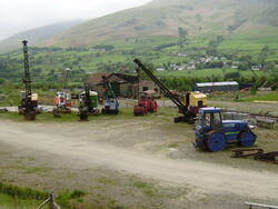 Threlkeld machinery display