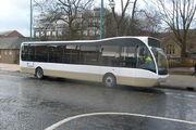 Lancashire United Optare Versa unfinished livery