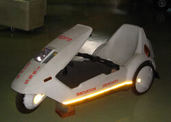 Sinclair C5 at Manchester