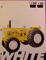 White 4-115 Mighty Tow Industrial MFWD ad - 1970