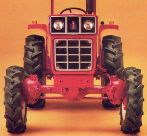 International 284 Diesel 4WD 1980