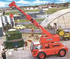 1970 TAYLOR JUMBO Speedcrane Diesel