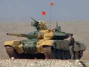 Indian Army T-90
