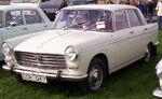 Peugeot 404 Super Luxe 1966