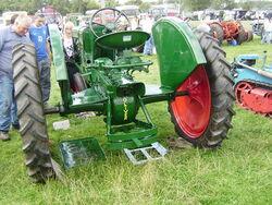 Oliver 70 rowcrop rear axle