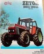 Zetor Crystal 10045 MFWD ad-1984