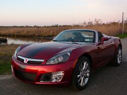 2009 Saturn Sky Redline Ruby Red Limited Edition