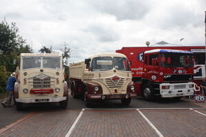 REVS tractor unit and two Fodens- BCVN yard 09 - IMG 3780