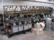 Queen Street Mill - Pirn Winding Machine - geograph.org.uk - 528574