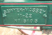 Cast mfg plate - sawyer-massey - IMG 2435